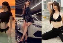 5 Black outfits of Actress Giorgia Andriani that will make you go flutter behind her hotness